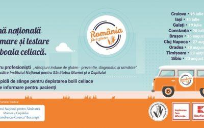 Kaufland și ARIG dau startul primei caravane de informare și testare gratuită pentru boala celiacă în România