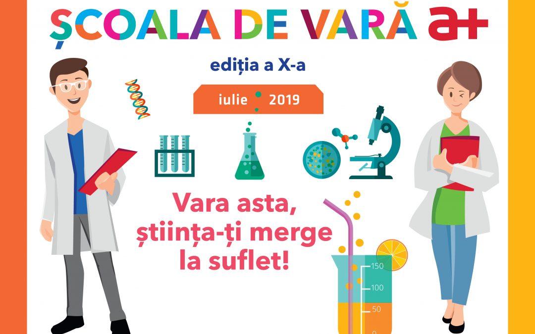 """""""Școala de Vara a+"""", pepinieră pentru viitorii specialiști ai Antibiotice"""