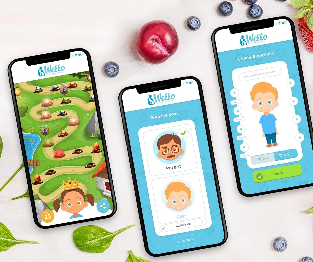 Prima aplicatie mobila din Romania care lupta cu obezitatea infantila