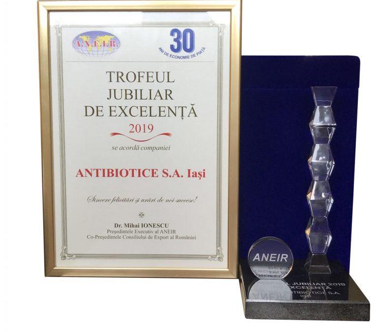 Compania Antibiotice a fost premiată de ANEIR pentru produsul Nistatină