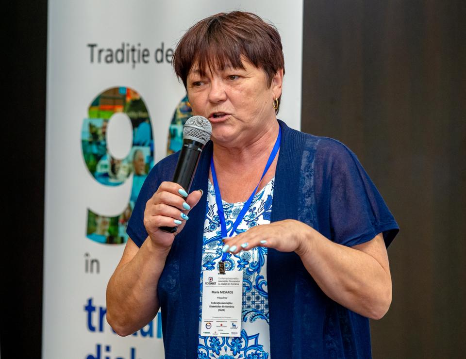 Maria Mesaroș, președinte FADR: Am văzut schimbări majore în rândul pacienților cu privire la conștientizarea complicațiilor și modul de întâmpinare a acestora