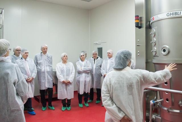 Profesioniști din domeniul sănătății din Serbia, în vizită la Antibiotice Iași