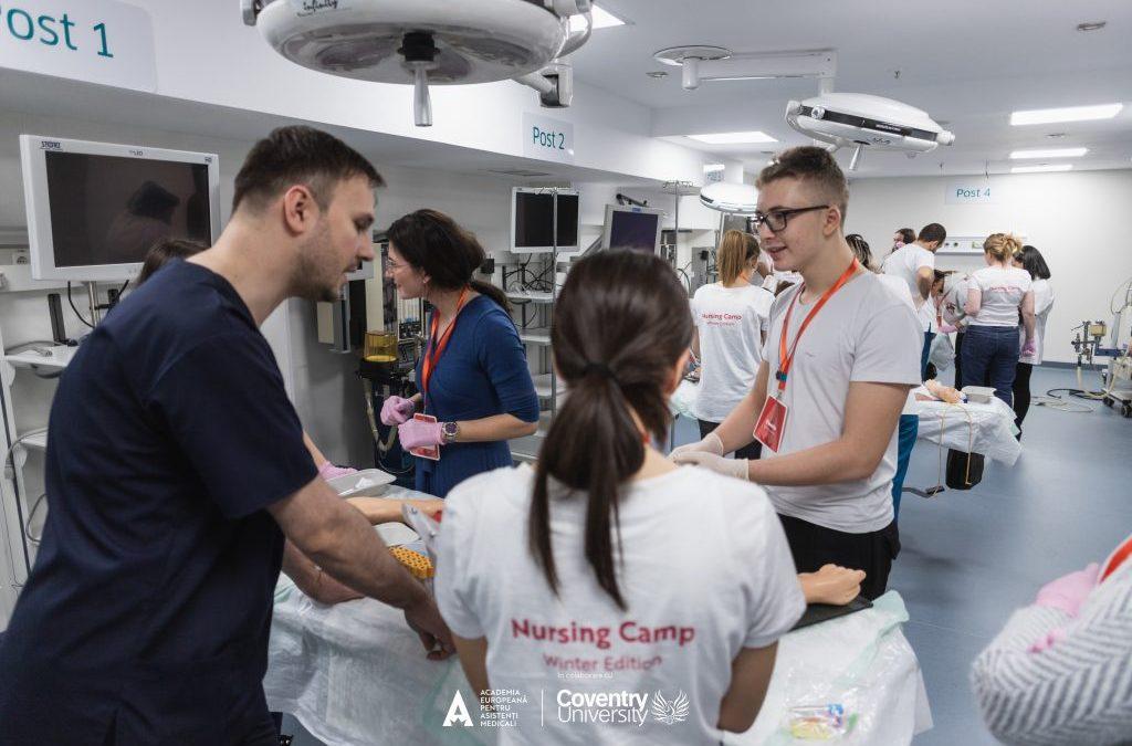Academia Europeană pentru Asistenți Medicali oferă primul program de studii universitare pentru asistenți medicali, cu diplomă de la o universitate internațională