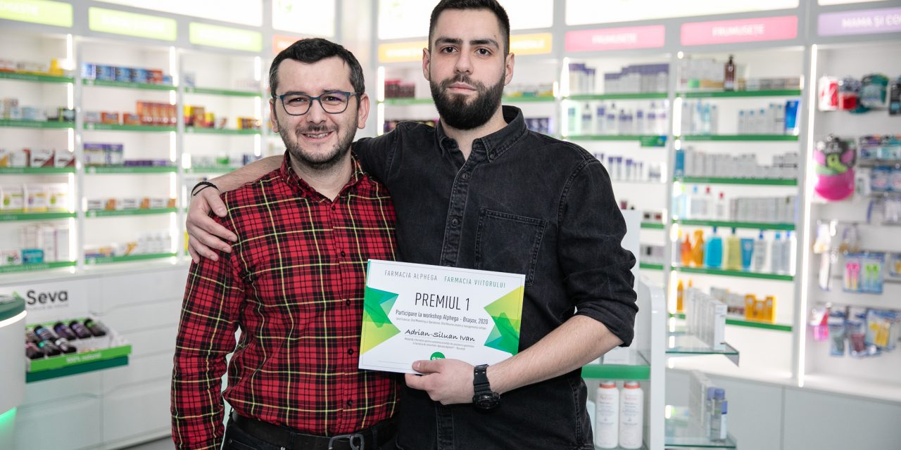 """Adrian-Siluan Ivan, câștigătorul locului întâi al Competiției Farmacia Viitorului: """"Proiectul Farmacia Viitorului vine în sprijinul studenților și tinerilor farmaciști"""""""