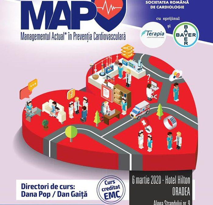 Curs MAP – Managementul Actual ȋn Prevenţia Cardiovasculară: Oradea, 6 martie