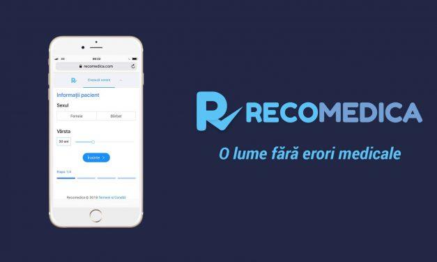 """RecoMedica lansează campania de informare """"Pentru mine, pentru cei din jurul meu"""", pentru a preveni răspândirea virușilor de răceală și gripă"""