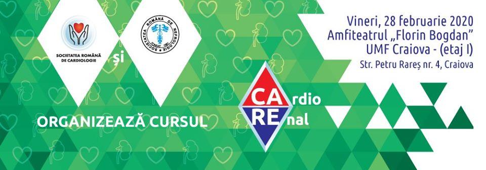 Cursul CaRe – CardioRenal: 29 februarie, UMF Craiova