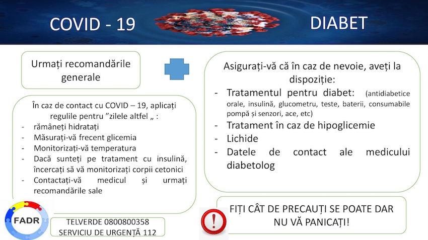 FADR:  Este extrem de important ca persoanele cu diabet să îşi ia toate măsurile împotriva noului coronavirus