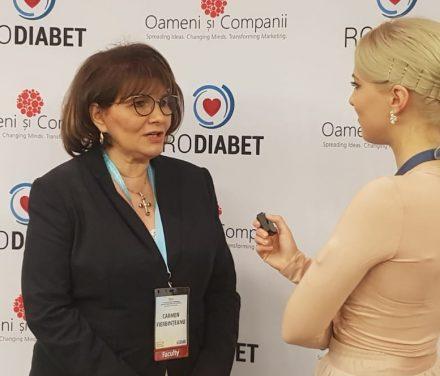 Prof. dr. Carmen Fierbințeanu Braticevici: Ne se mai poate vorbi de a fi gastroenterolog fără să cunoști problemele legate de nutriție și diabet