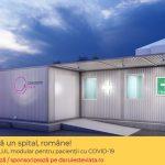 Asociația Dăruiește Viață, donatorii, sponsorii și partenerii săi ridică un spital modular la Spitalul Elias