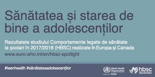 Doar un sfert din adolescente și mai puțin de jumătate din adolescenții români de 15 ani consideră că sănătatea lor este excelentă