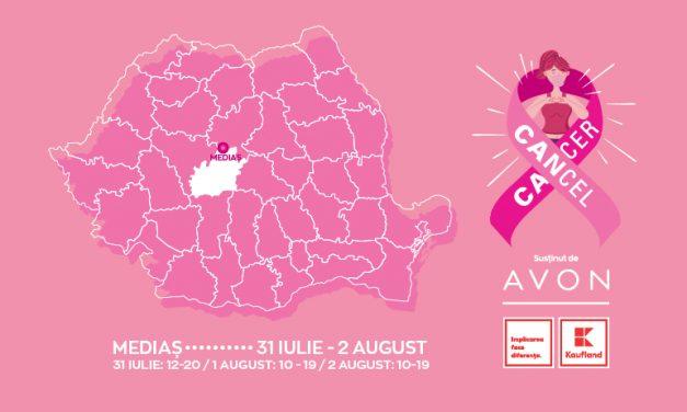 AVON și Kaufland România continuă campania #CancelCancer – caravana națională de ecografii mamare gratuite