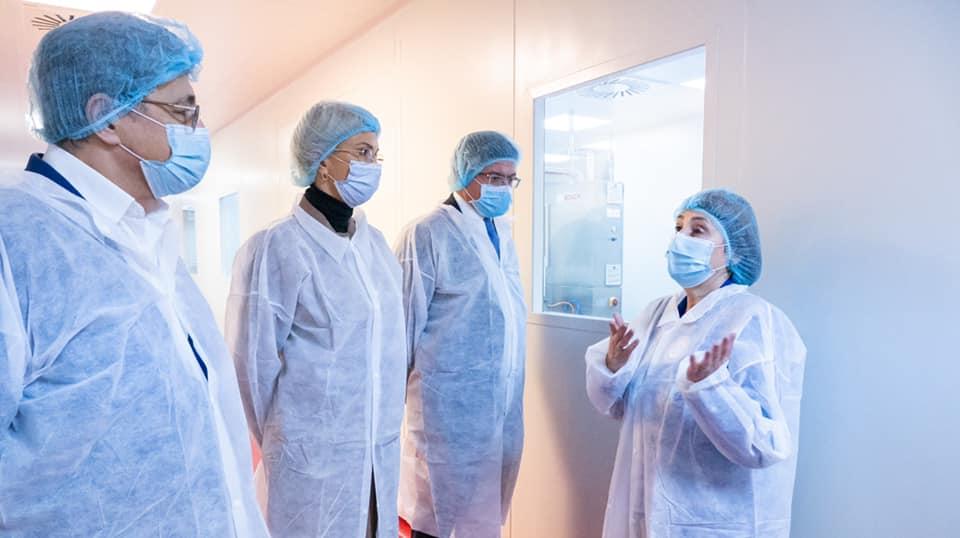 Raluca Turcan: La Antibiotice Iaşi am văzut o companie mare, prosperă şi cu un plan de investiţii destul de ambiţios