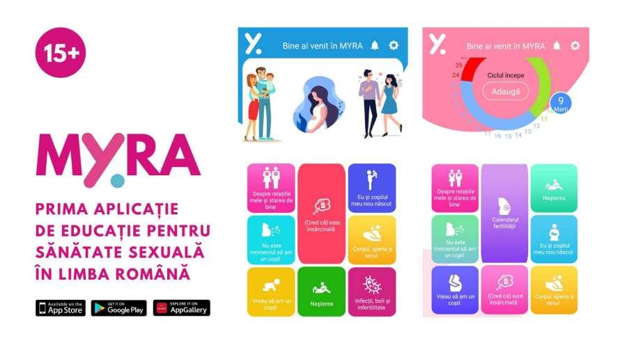 Prima aplicație mobilă de educație pentru sănătate sexuală în limba română, este disponibilă gratuit pe App Store și Google Play