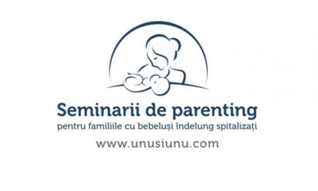 VIDEO Seminar. Igiena corectă a mâinilor pentru accesul părinţilor în terapie intensivă – Asociația Unu și Unu