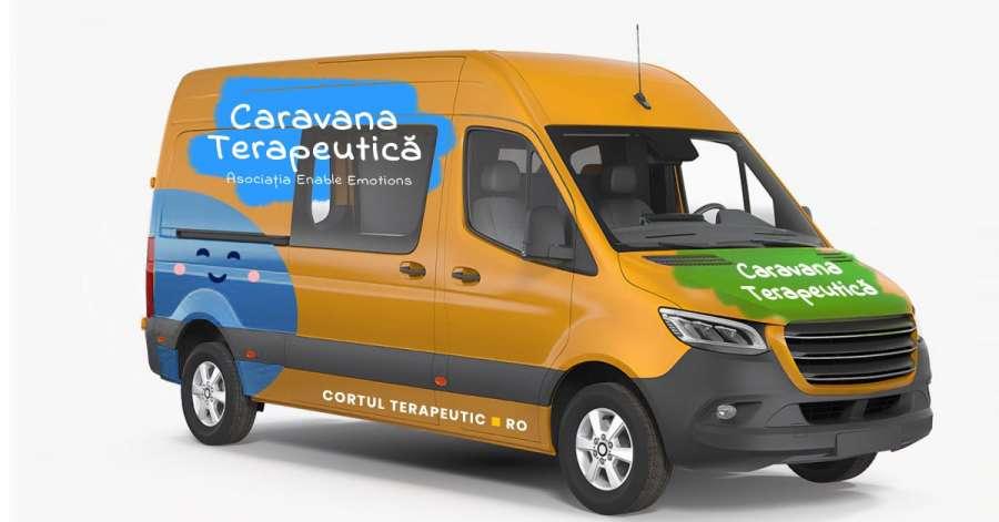 Caravana Terapeutică – Primul pas către Tine – un proiect neconvențional, pe roți, care promovează beneficiile psihoterapiei