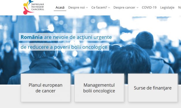 A fost lansat www.cancer-plan.ro, website pentru informarea publicului, pacienților și profesioniștilor din Oncologie și Hematologie