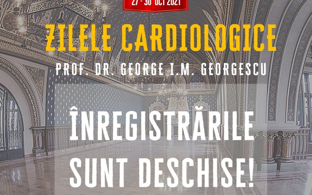 """Ediția a 6-a Zilele Cardiologice """"Prof. Dr. George I. M. Georgescu"""""""