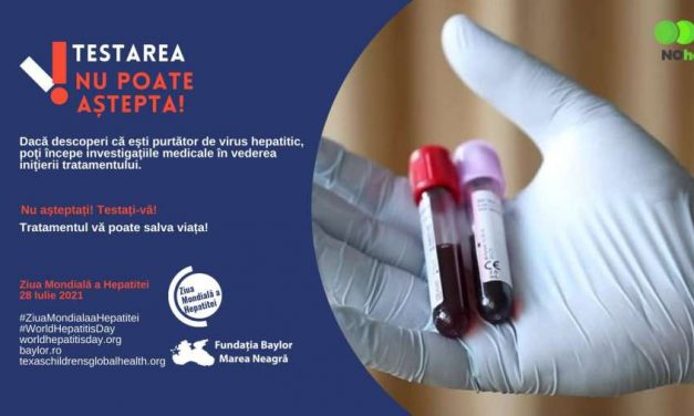 Fundația Baylor Marea Neagră oferă posibilitatea de diagnosticare a infecțiilor cu HIV sau hepatite virale