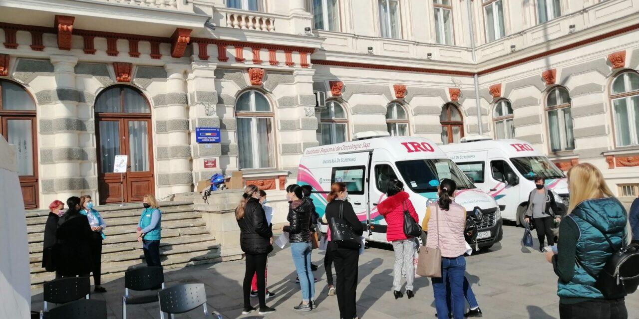 Femeile din Bacău se pot testa gratuit pentru cancerul de col uterin, la caravana mobilă a IRO