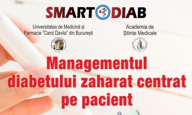 """Conferința """"Managementul diabetului zaharat centrat pe pacient"""" este creditată cu 12 puncte EMC"""