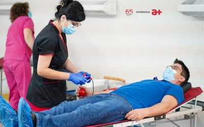 Voluntarii Antibiotice Iași donează sânge la cea de-a 20-a acțiune de donare organizată de companie